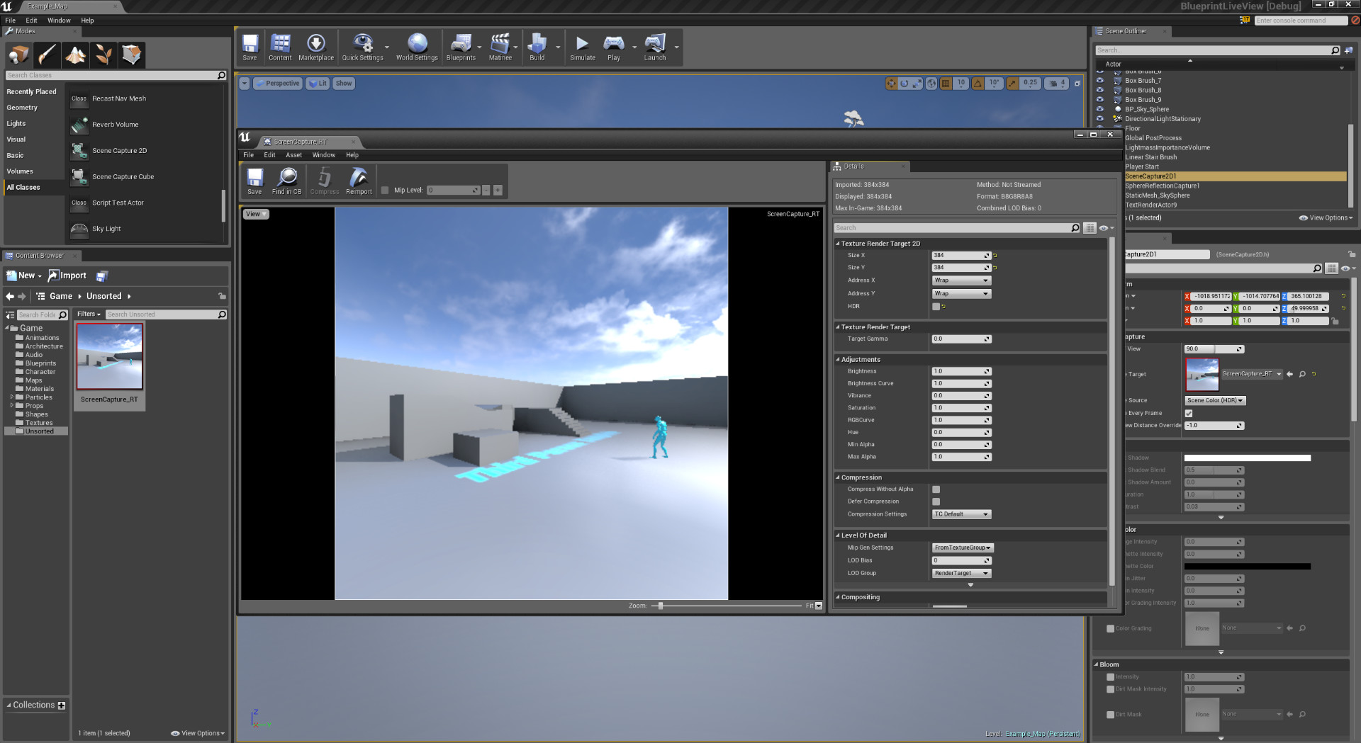 UE4 UI Tutorials: Live game views for Unreal Engine 4