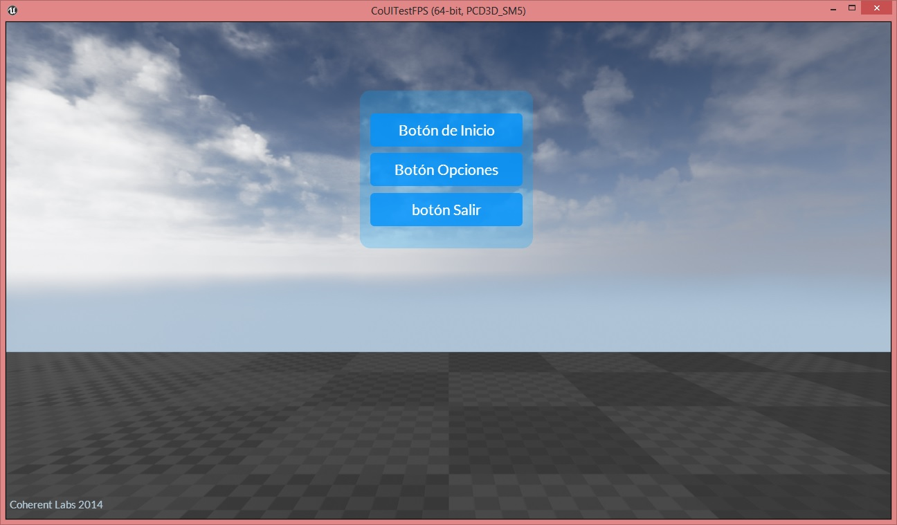 UE4 UI tutorial - how to use localization with Coherent UI