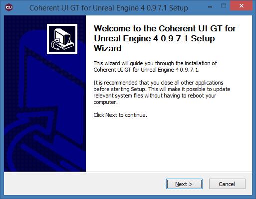 Instal Coherent GT Plugin