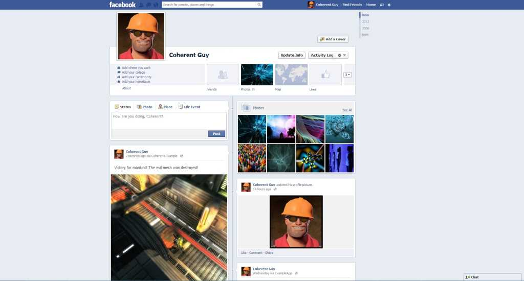 Unity 3D Facebook integration with Coherent UI (tutorial)
