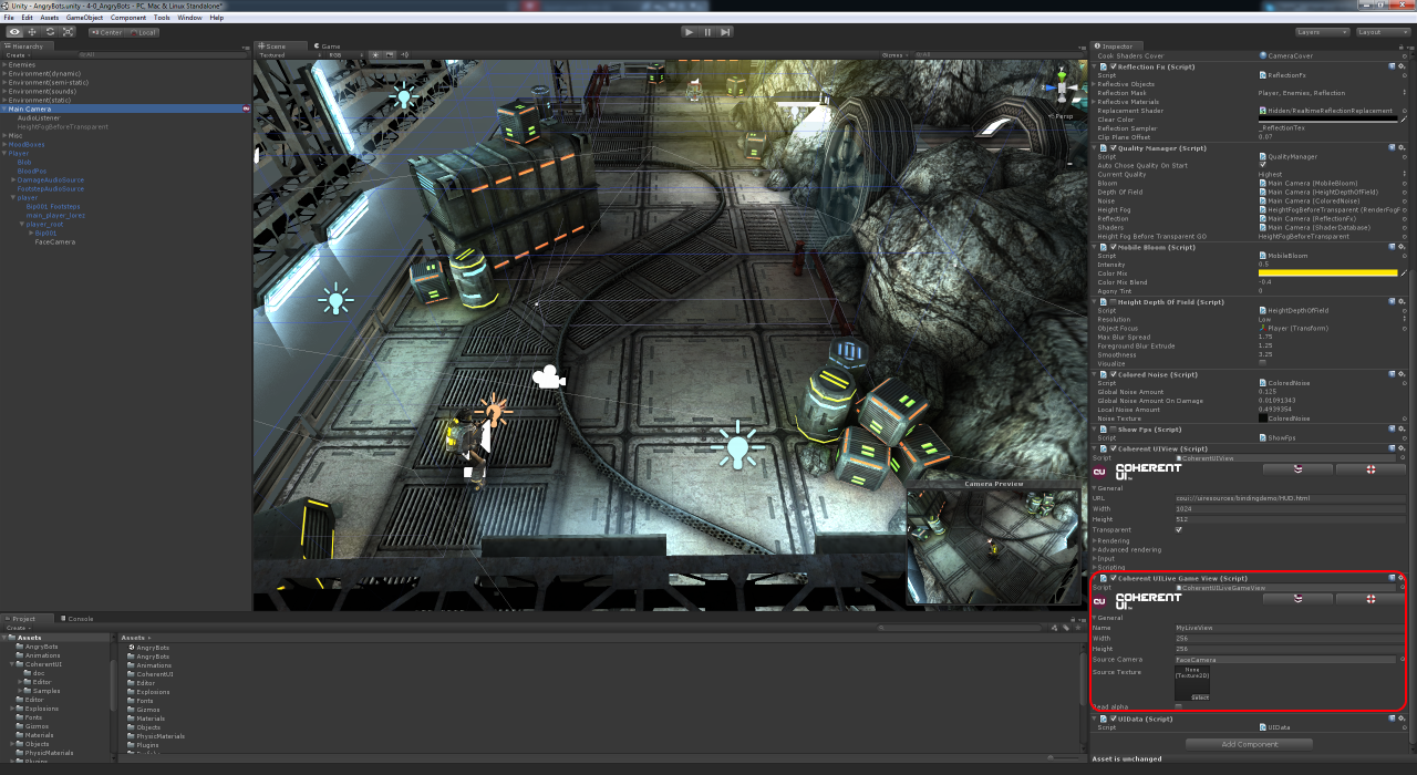 Live Game Views with Coherent UI for Unity3D - Coherent Labs