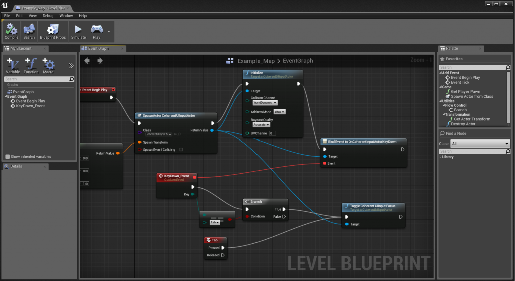 Getting game focus back from Coherent UI