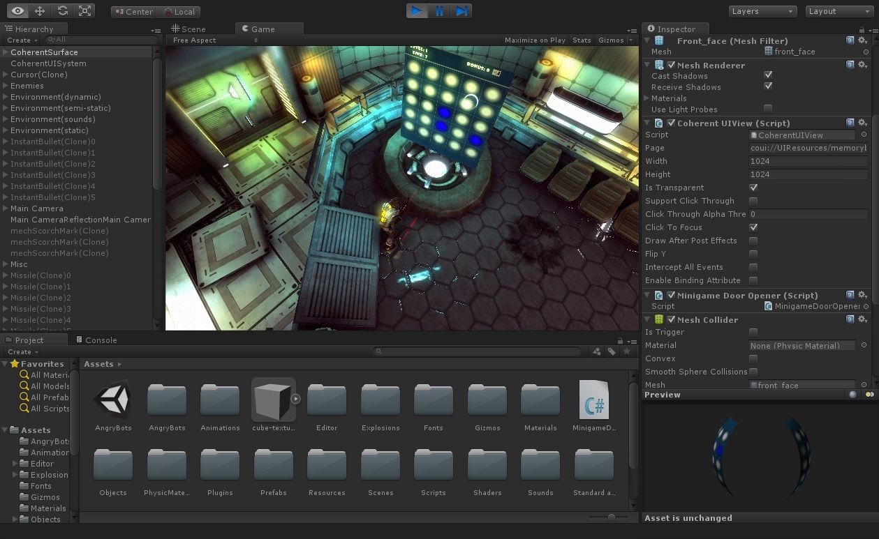 how to create a gui to show players altitude unity