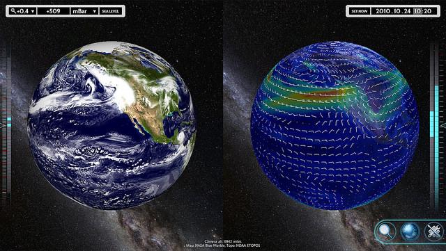 Synchronized Globes