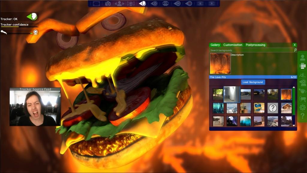 Burger Revenge FaceRig