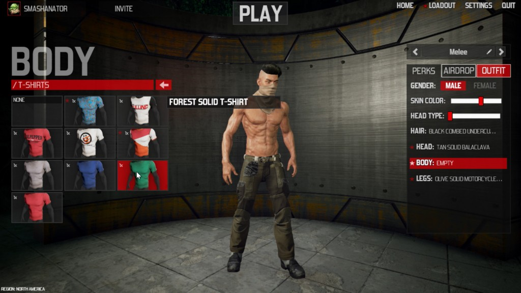 The Culling Character Customization
