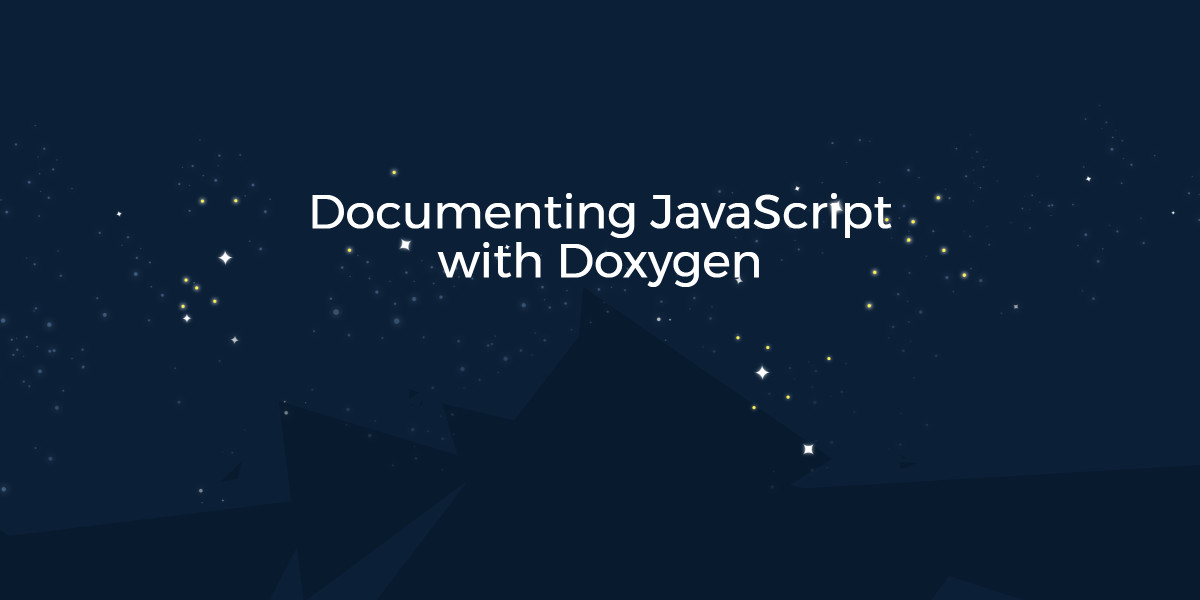 Documenting Doxygen With Javascript