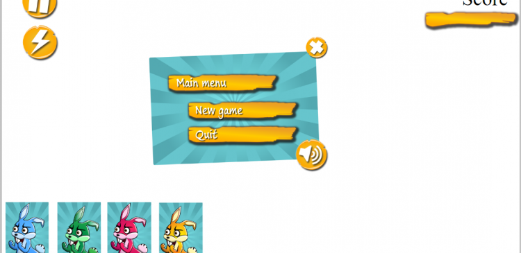 Angry Birds Style UI with Hummingbird