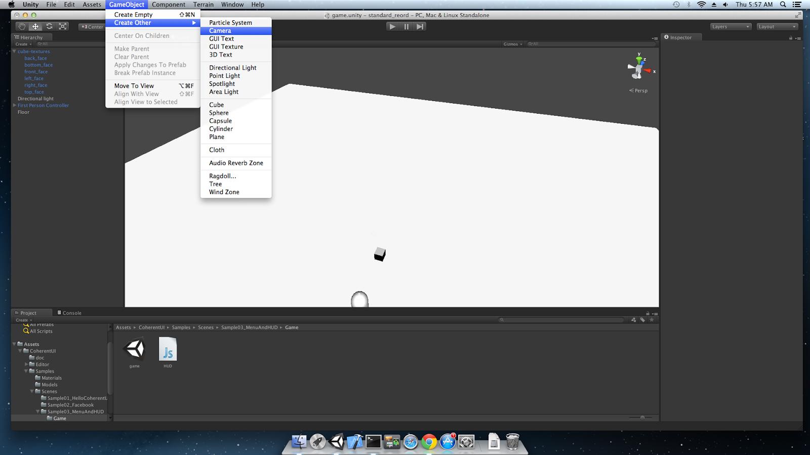 Unity3D - compositing multiple Coherent UI Views tutorial