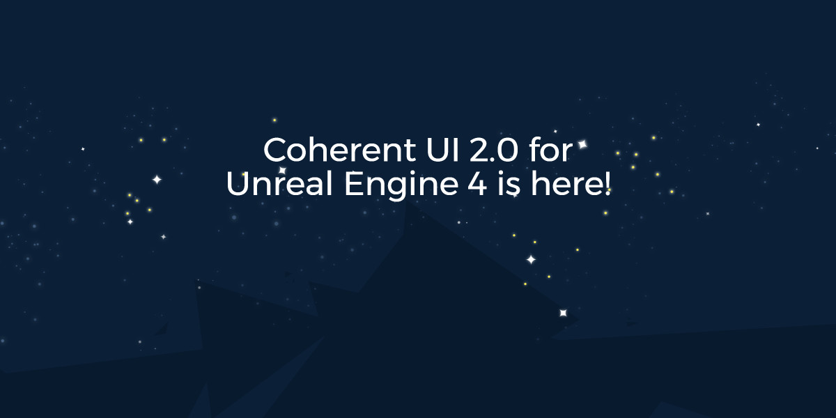 Coherent ui 20 for unreal engine 4 is a perfect tool to create gui malvernweather Gallery