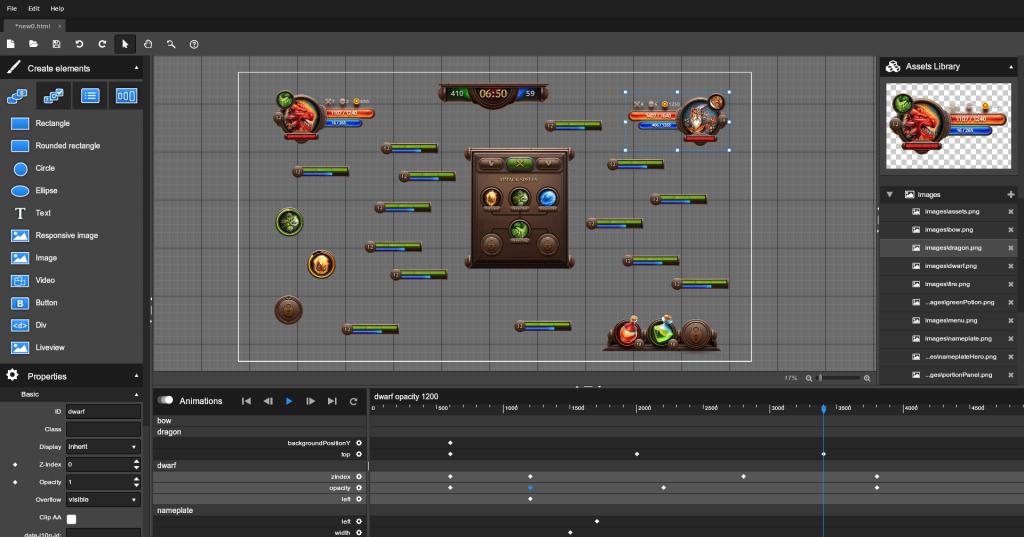 Coherent visual UI editor