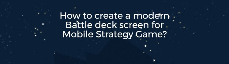Mobile Strategy Game