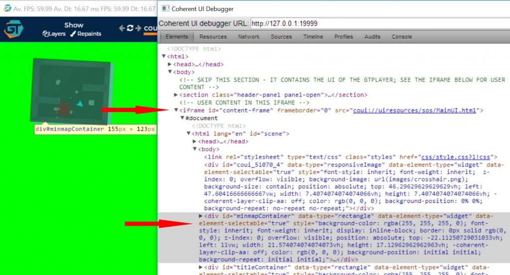 Coherent UI Debugger