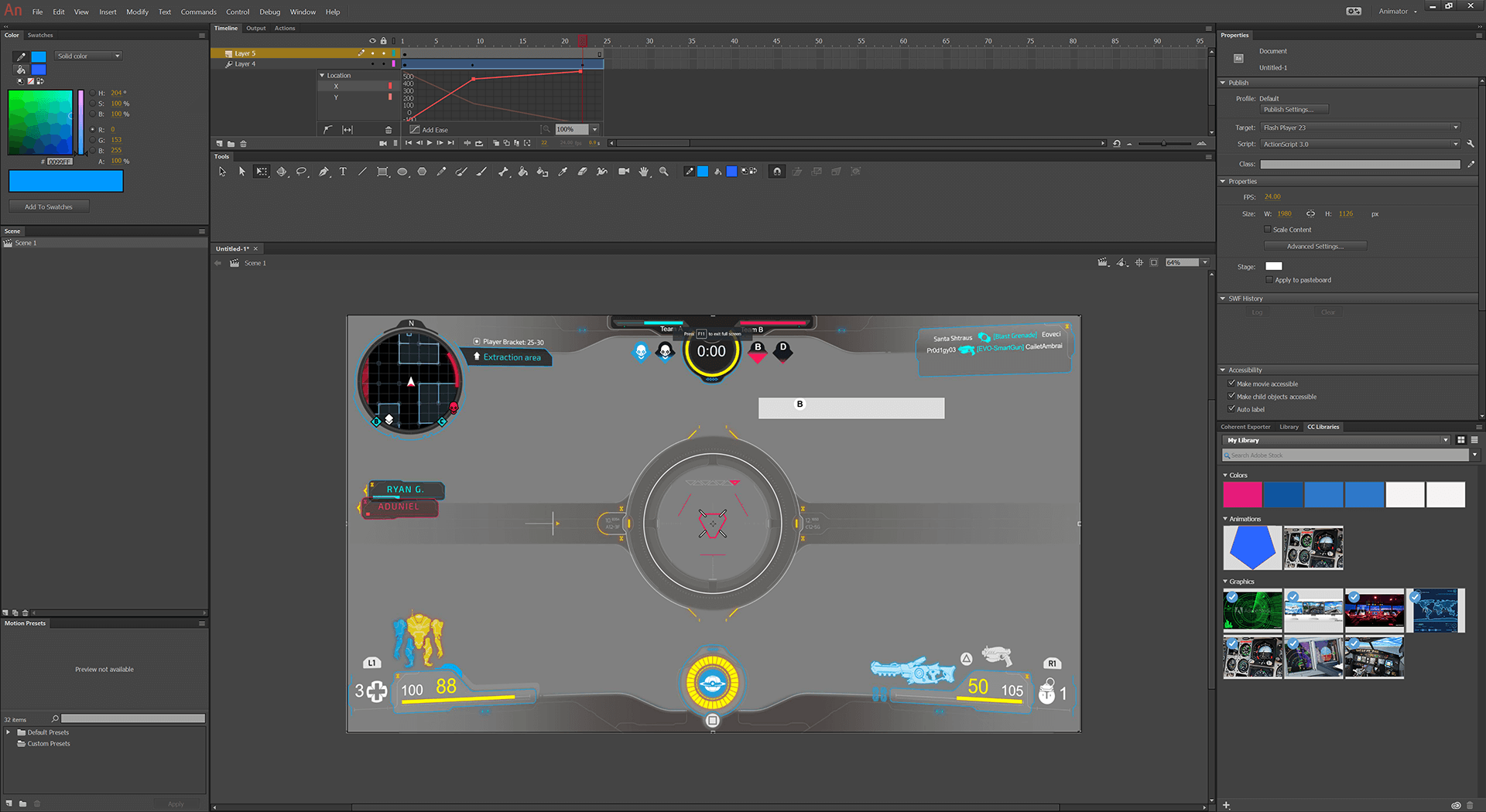 adobe animate html exporter