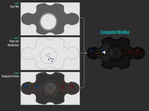 MOBA game UI sample