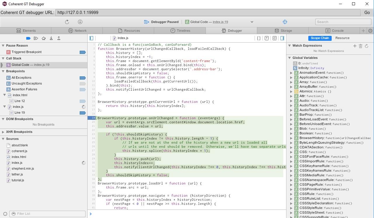 Coherent GT Debbuger tool overview - improve your UI development