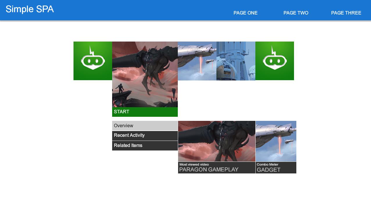 HTML multi-page spa tutorial