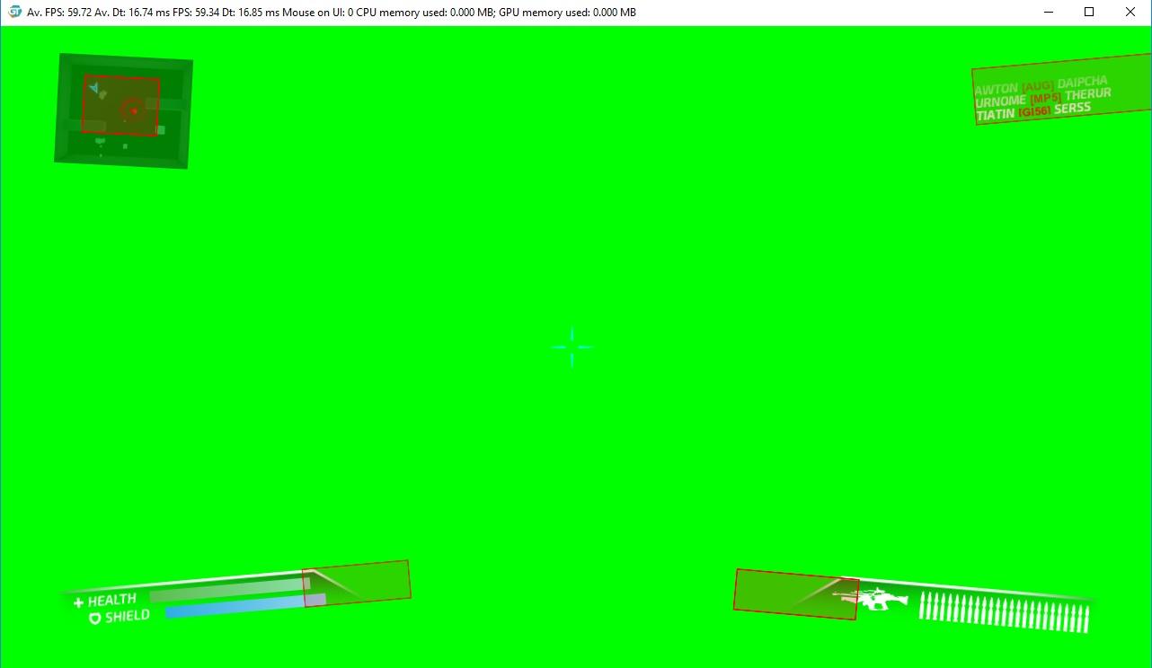 UI debbuging repaint elements