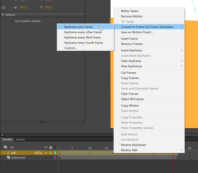 frame-by-frame animation tutorial