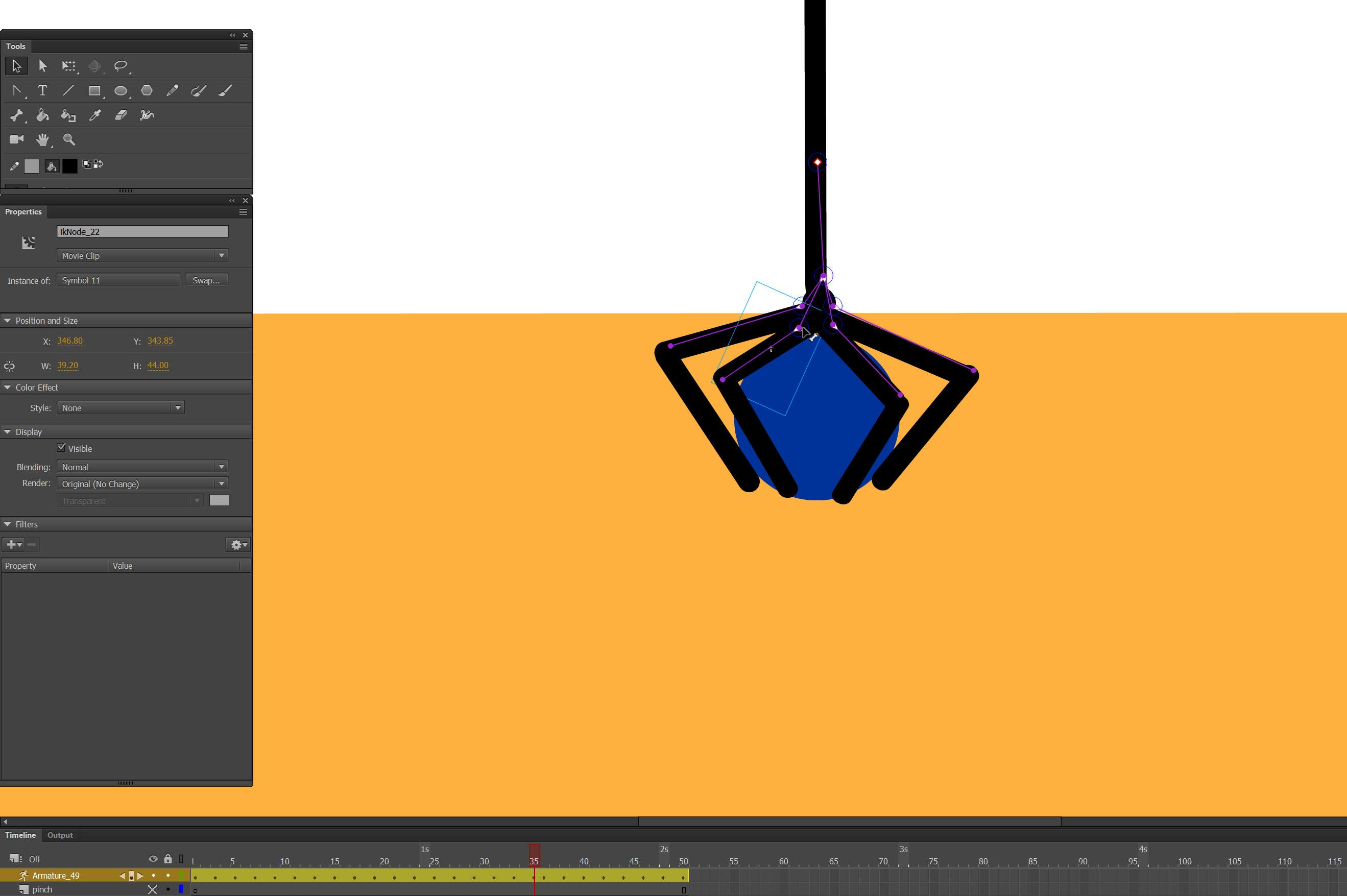 bone tool animation tutorial