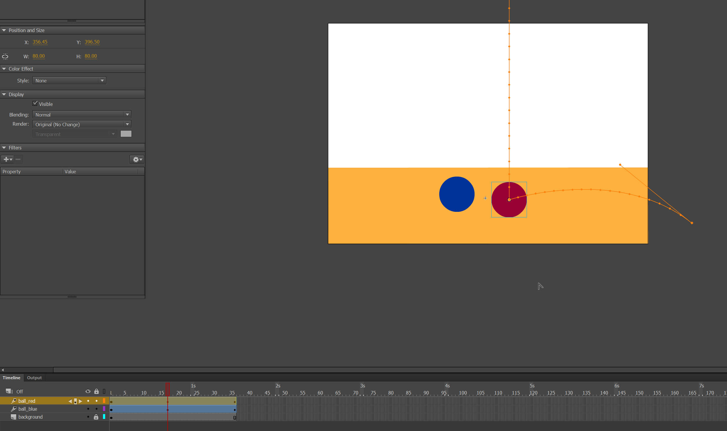 creating motion tween Adobe Animate