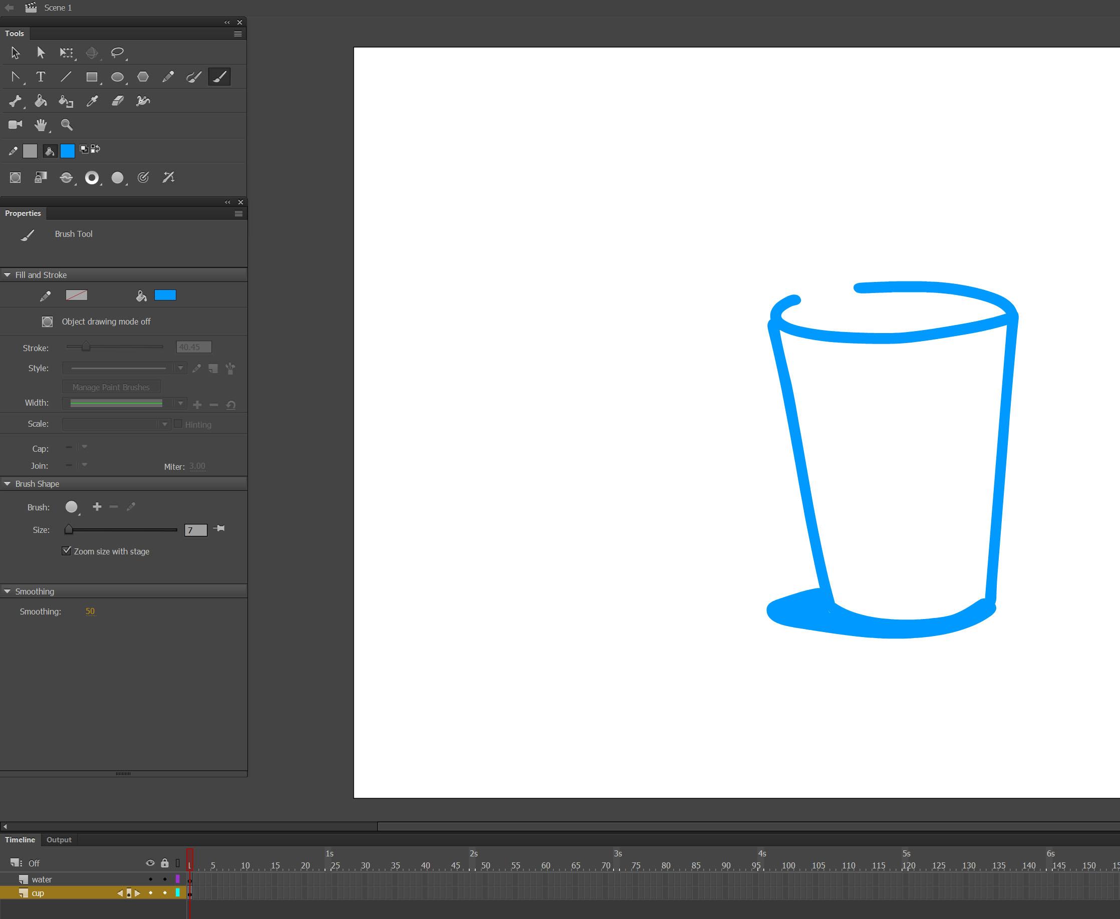 pose to pose Adobe Animation tutorial