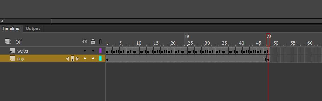 insert frame Adobe Animate