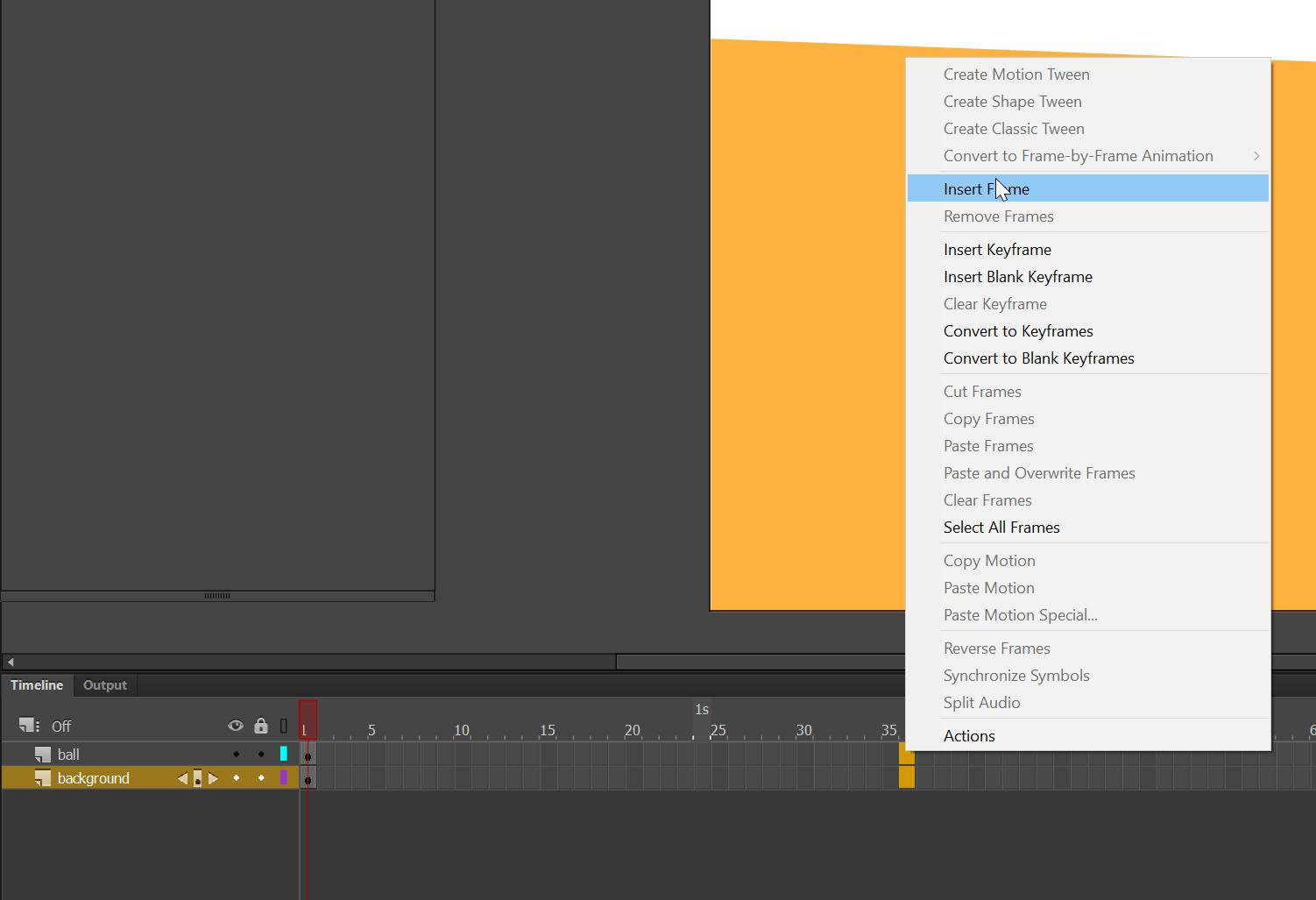 setting motion Adobe Animate tutorial