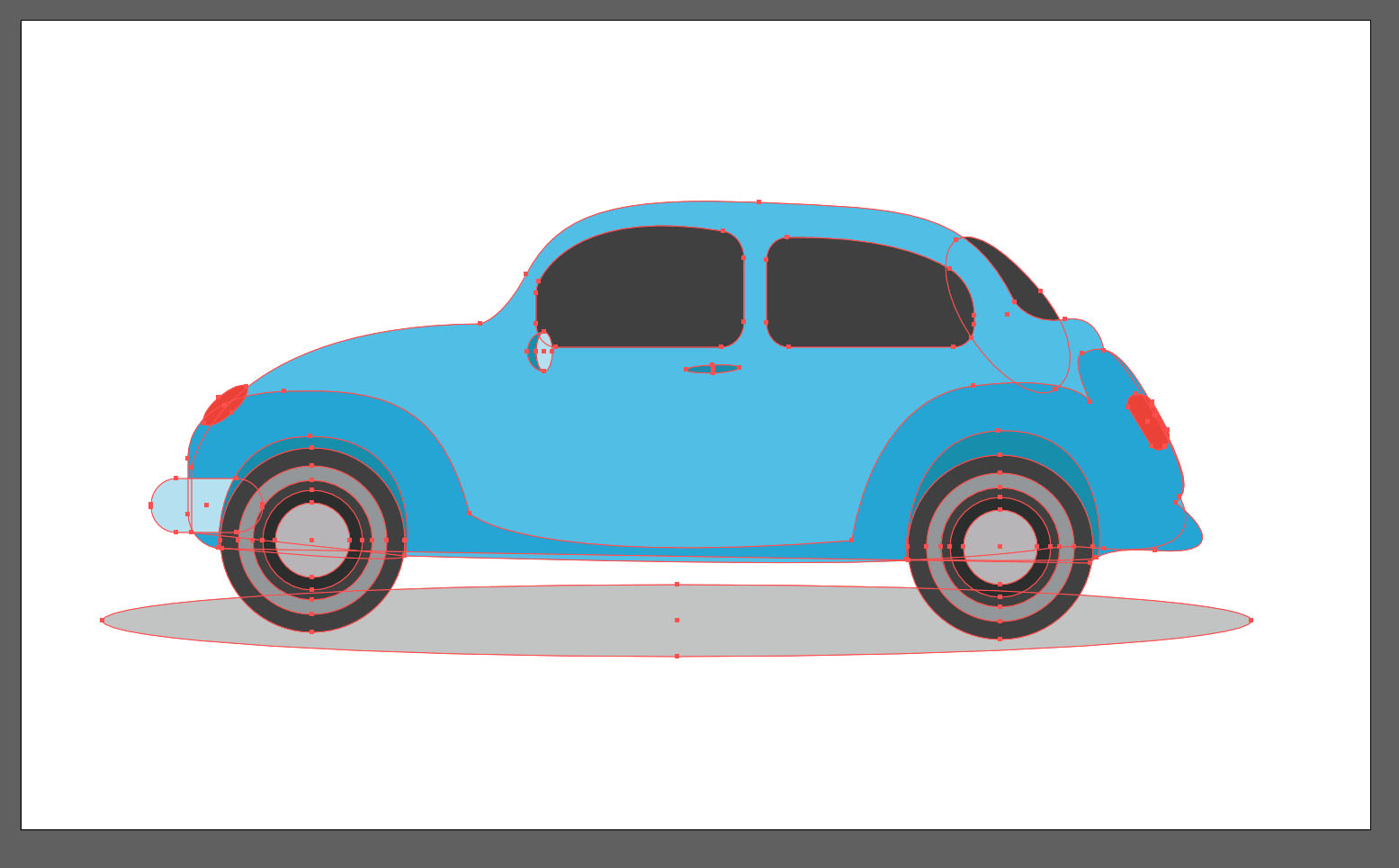 car asset Adobe Animate tuorial