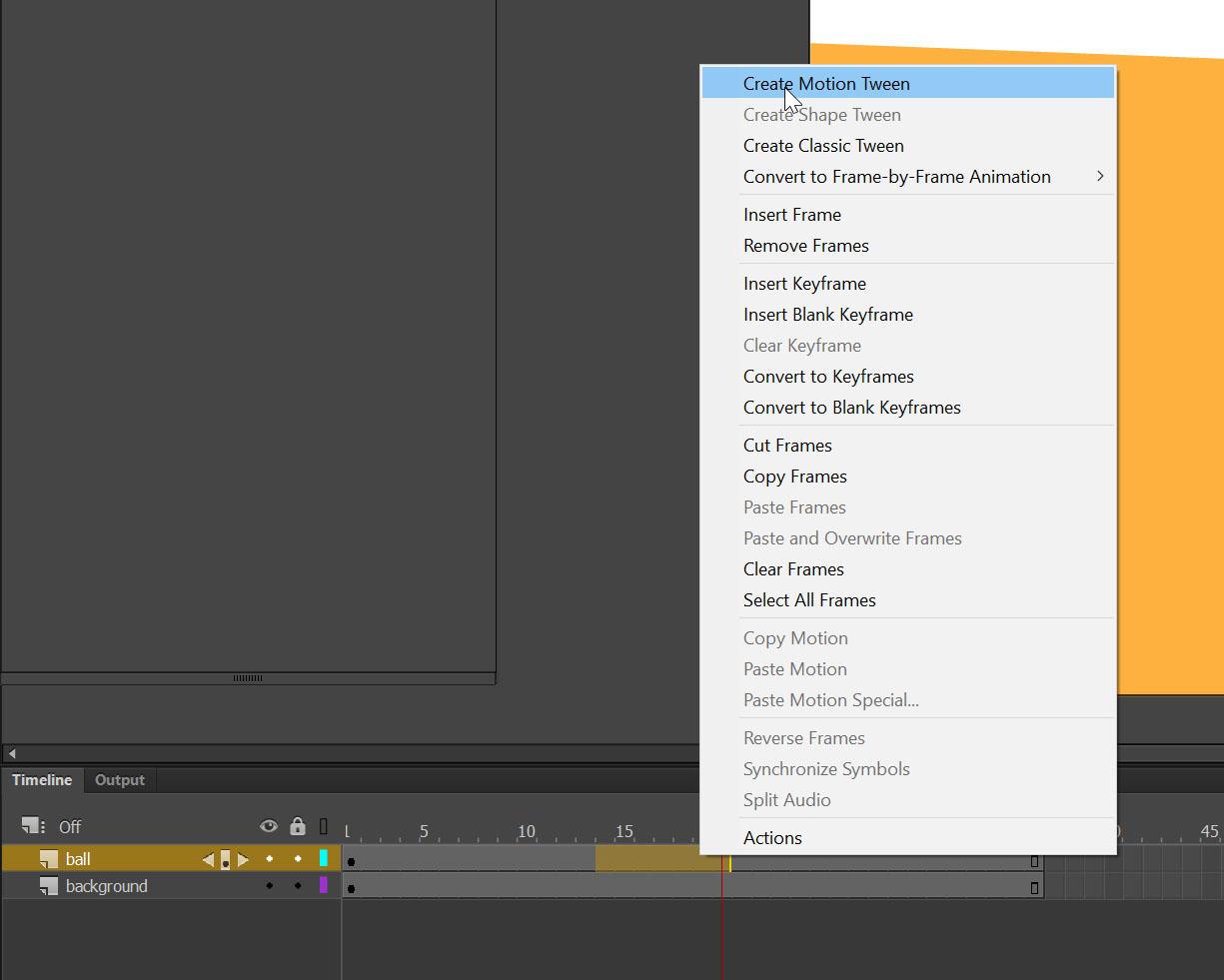 Adobe Animate animation techniques