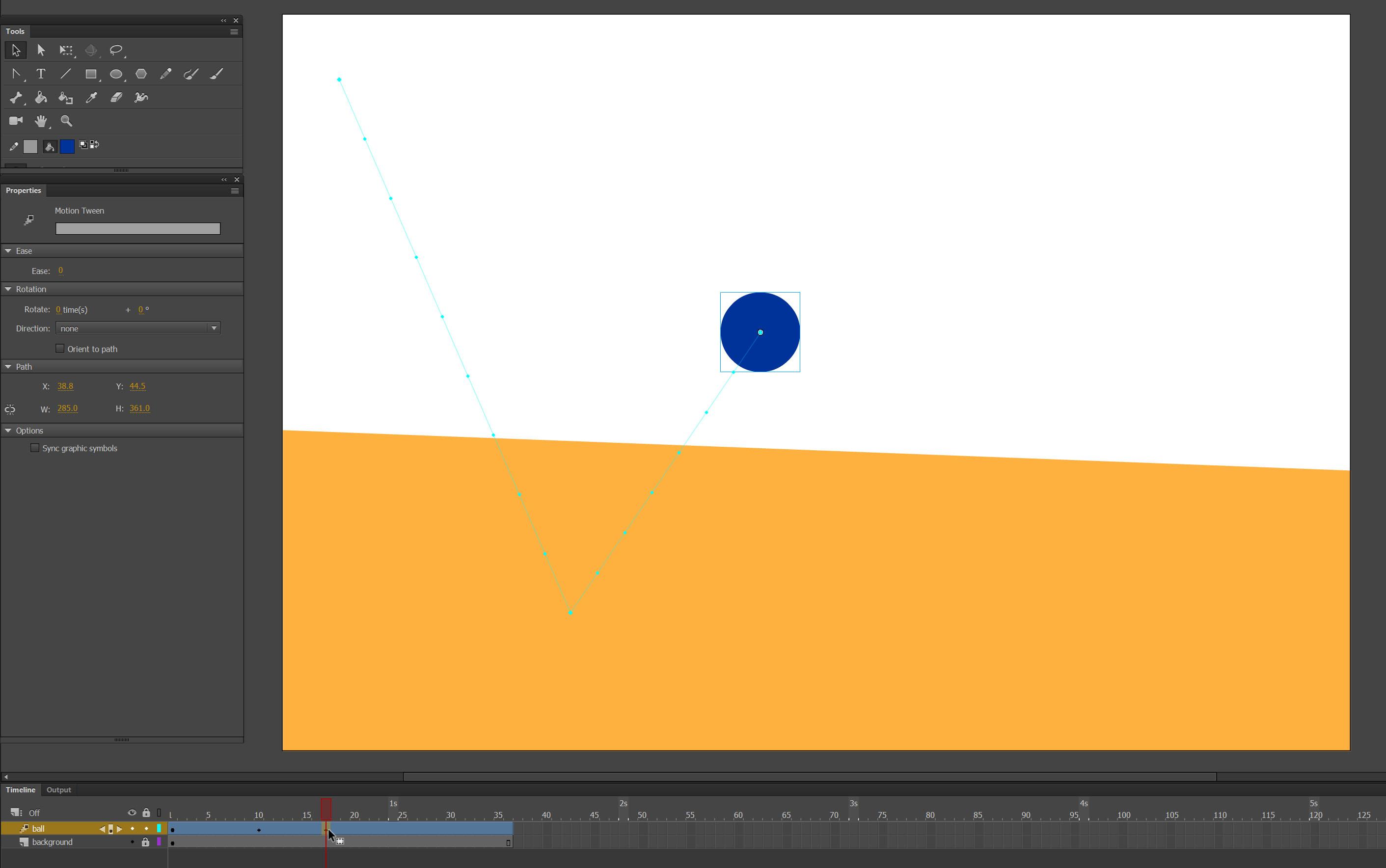 Adobe Animate motion tutorial