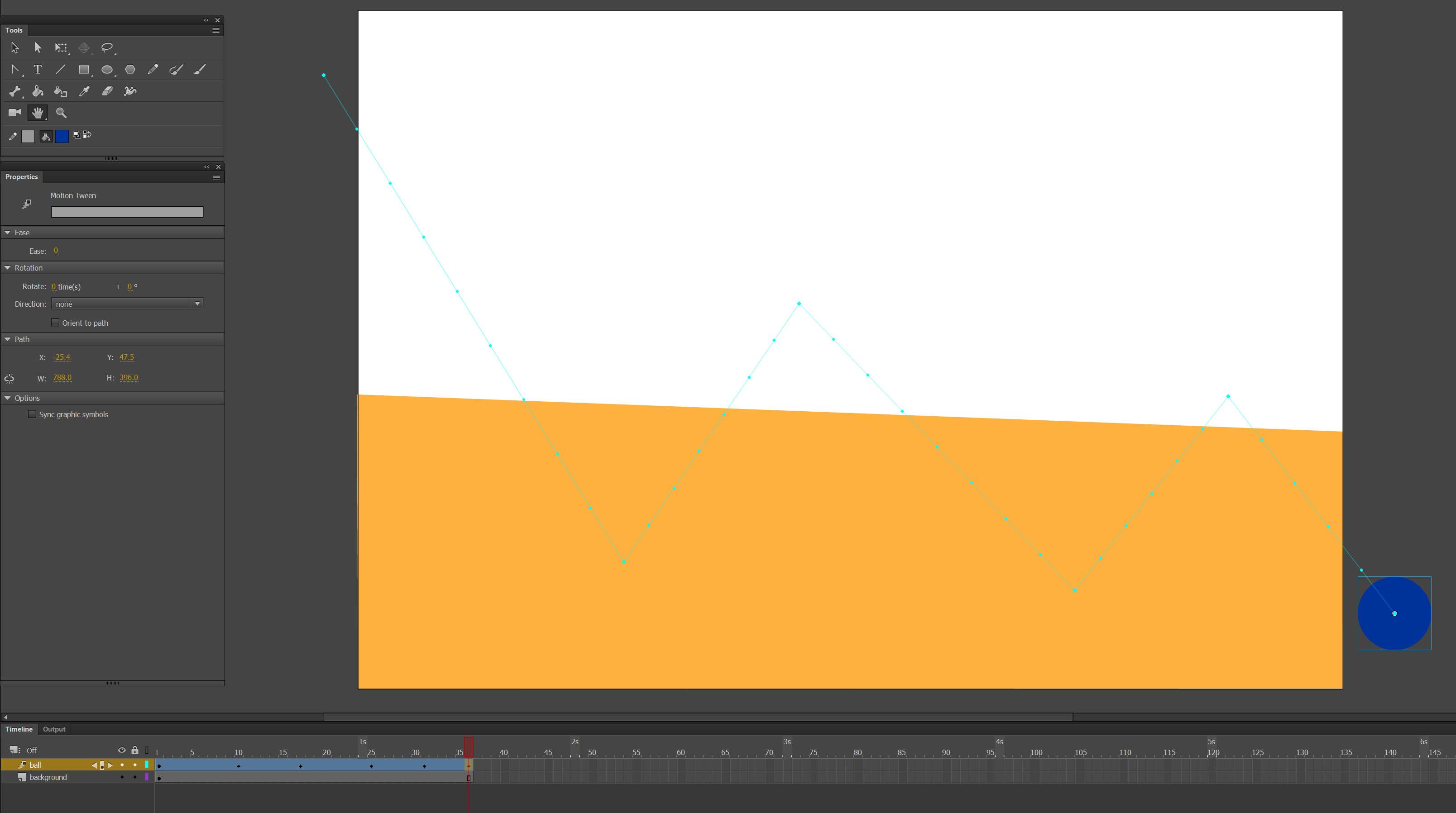 Adobe Animate animation tutorial
