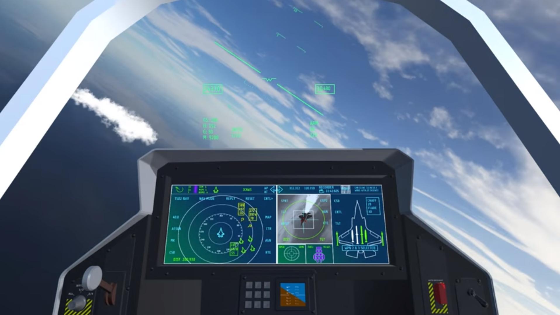 flight Simulator UI kit